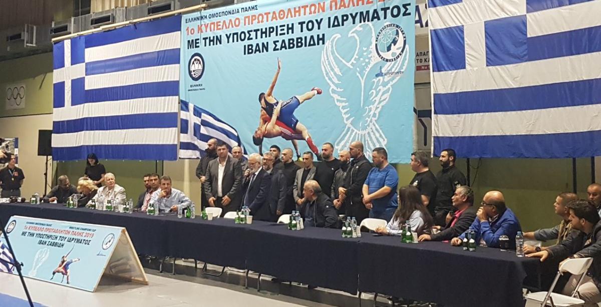Ο Δήμος Ασπροπύργου Τίμησε τον Ιβάν Σαββίδη στο 1ο Πρωτάθλημα «ALL STARS» Πάλης - Φωτογραφία 1